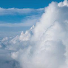 в облаке