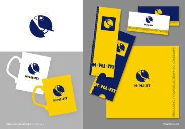логотип, фирменные открытки, каталог, кружки с лого
