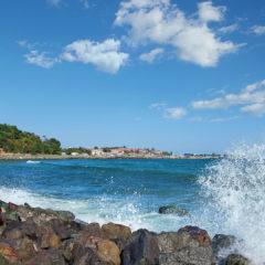 море камни болгария несебр