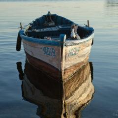 море лодка