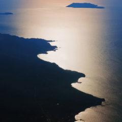 море берег горизонт