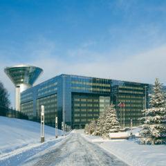 Дом Правительства Московской области, зима