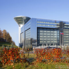 здание Дома Правительства Московской области, осень