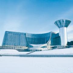 здание Дома Правительства Московской области, зима