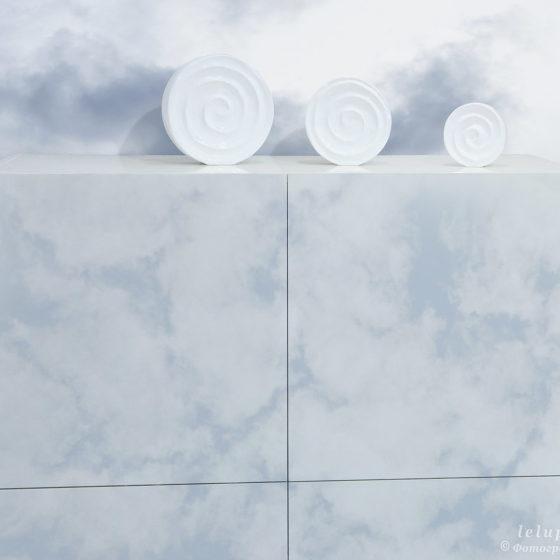 фактура облаков на мебельных фасадах