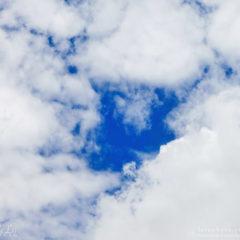 облака в небе, небеса